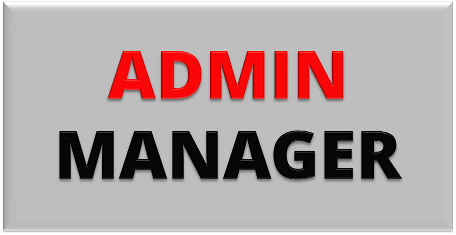 Image result for Admin Manager